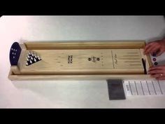 Tabletop Bowling | wooden tabletop game | UncommonGoods