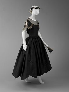 Robe de Style House of Lanvin  (French, founded 1889)   Designer: Jeanne Lanvin (French, 1867–1946) Date: ca. 1926 Culture: French Medium: silk. Front
