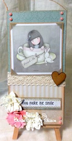 Using Gorjuss collection from Docrafts x