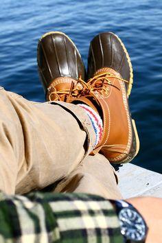 2a88de40c0e A.S. Couillard. Bean Boots OutfitPreppy MenPreppy ...