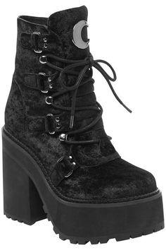 6ff9463583 Killstar Broom Rider Boots Beserk Clothing, Rider Boots, Combat Boots,  Gothic Boots,