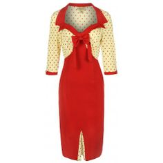 The Faith Red Pencil Wiggle Dress. This inspired dress with flattering neckline and feminine bow is a must have for any wardrobe. Red Fashion, 1950s Fashion, Vintage Fashion, Fashion Ideas, Timeless Fashion, Julia Roberts, Vintage Style Dresses, Vintage Outfits, Dress Vintage