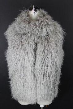 Authentic Chanel Womens Mongolian Lamb Fur Vest Sz 40 | eBay  FABULOUS!!!!!!!