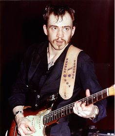Stevie Ray Vaughan without a Stratocaster in his hands. - Telecaster Guitar Forum