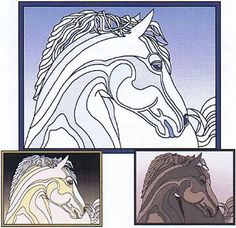 Horse Celtic Quilt Pattern  at Creative Quilt Kits