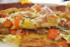 Alimentazione & Cucina Naturale: Torta di verdure con tonno