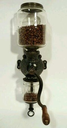 Manual coffee mill