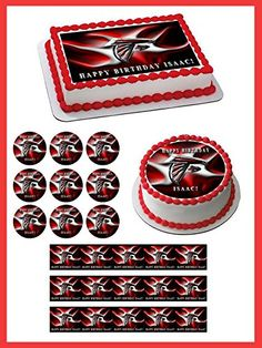 "Atlanta Falcons 2 Edible Cake Topper - 1.8"" cupcakes (20 ... https://www.amazon.com/dp/B076BYQYWC/ref=cm_sw_r_pi_dp_U_x_AsijAbQA6FP3Q"