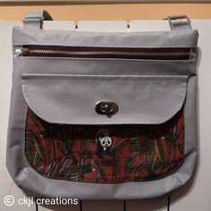 CKJL Créations sur Instagram: Nouveau sac Polka patron @patrons_sacotin mercerie et tissu extérieur @lamerceriedescreateurs tissu intérieur @nadegetissus #diy…
