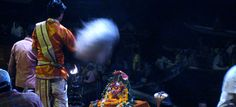 Take your time, enjoy! New blog post about the Ganga Aarti puja (in french)
