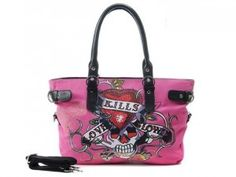 Image detail for -Ed Hardy Purses on Sale – Search For the Right One Purses For Sale, Purses And Bags, Ed Hardy Designs, Custom Purses, Hermes Perfume, Pink Leather, Luxury Handbags, Shoulder Handbags, Purse Wallet