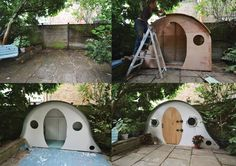 This Hobbit House is used as a functional garden shed  - countryliving.co.uk