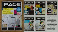 PAGE magazine cover   precious, strategic design & visual language         Die Macher des +re:publica Designs haben das Cover der aktuellen Page gestaltet: Der Magazin-Titel als Dummy seiner selbst.