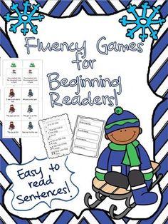 Fluency Games for Beginning Readers