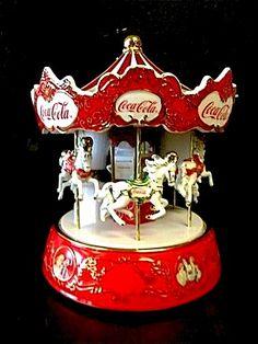 Ardleign Elliot Coca-Cola Classic Illuminated Musical Carousel