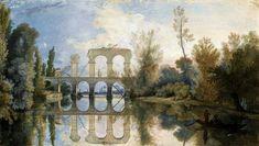 Aqueduct in Arkadia by Jean-Pierre Norblin de La Gourdaine, 1784 (PD-art/old), Muzeum Narodowe w Warszawie (MNW)