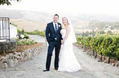 A Viansa Winery Wedding | Kristin & Brandon on Borrowed & Blue.  Photo Credit: Angie Silvy Photography