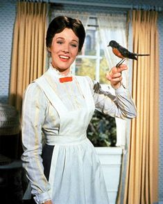 Mary Poppins. I spoke with a British accent for much of my childhood thanks to this girl right here. Im still completely crazy over Mary.