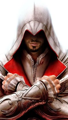 Pay allegiance to Ezio Auditore by joining the brotherhood with the Assassin's Creed - Ezio Brotherhood Hoodie. Assassins Creed Quotes, Assassins Creed Cosplay, Asesins Creed, All Assassin's Creed, Playstation, Xbox 360, Ps4, Assassin's Creed Wallpaper, Assassin's Creed Brotherhood