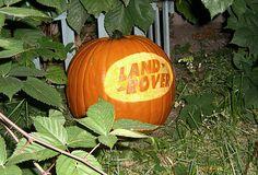 Land Rover Pumpkin