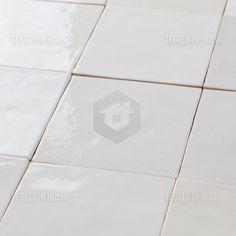 Handvorm wandtegel 13x13 wit random glans bestel je eenvoudig bij Tegels in Huis