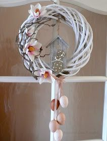 Easter is just around the corner, So what are you waiting for? These easy Easter decorations are certain to make your holiday a whole lot hoppier. Let's get crafting! Easter Wreaths, Holiday Wreaths, Holiday Crafts, Diy Easter Decorations, Easy Diy Crafts, Spring Crafts, Holidays And Events, Easter Crafts, Waiting
