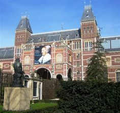 "Amsterdam - Rijksmuseum (State Museum). There is nothing I love more then seeing a picture and being able to say ""I've been there!!"" There is so much more to Amsterdam then the Red Light District, I'd love to go back one day."