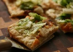 Chicken Caesar Flatbread