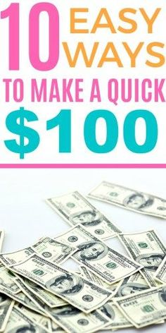 Easy ways to make extra money fast! If you're looking for easy ways to make extra cash at home, then these 10 tips will help you do exactly that!