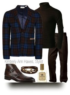 """""""Gents Style Files"""" by kimberlyannhawes ❤ liked on Polyvore featuring Magnanni, Kiel James Patrick, mens, men, men's wear, mens wear, male, mens clothing and mens fashion"""
