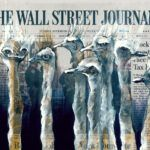 Painted on Front Pages, Lisa Törner's Evocative Animals Astutely Comment on Major News Stories Three Wise Monkeys, Lisa, Colossal Art, Wild Creatures, Learn To Paint, Artists Like, Mother And Child, News Stories, Black Panther