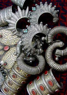Check our the Tribal bangles at Zara's Zouk here:  http://www.zaraszouk.co.uk/tribal/tribal-jewellery-accessories/x