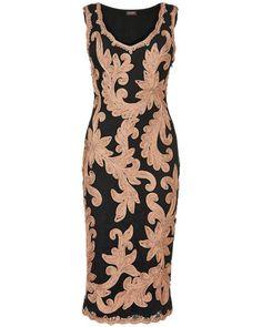 Sabine Tapework Dress