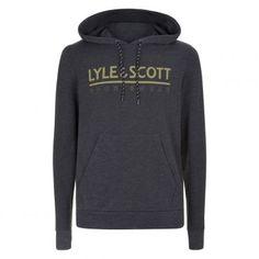 2de8cde709c Lyle & Scott Fitness Pullover hoodie true black marl De Wit Schijndel