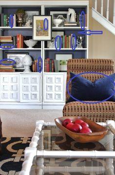 SOO good! How to Style a Bookshelf Like a Pro!