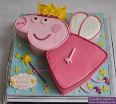 2012-05-19 Peppa Pig Birthday Cake 01