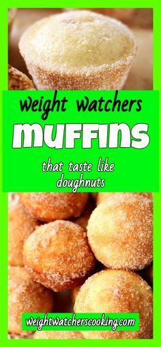 donut muffins | weight watchers cooking