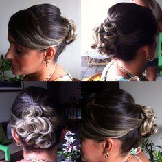 Penteado e make para madrinha de casamento ❤️