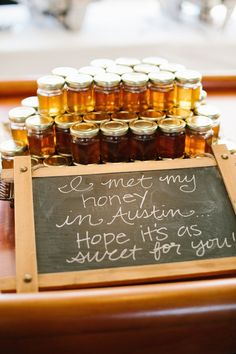 These wedding favors are too sweet... literally!