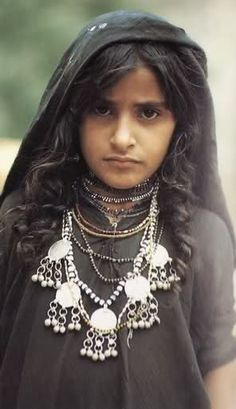 Yemeni girl | ©unknown, via Yemen Kitchen