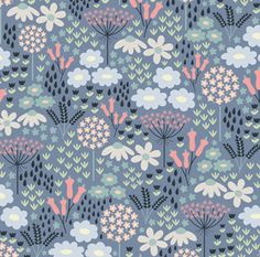 Designer Suzy Taylor was born and bred in London Motif Floral, Floral Prints, Art Prints, Lino Prints, Block Prints, Surface Pattern Design, Pattern Art, Textures Patterns, Print Patterns