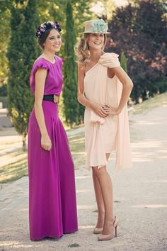 DIY Tutorial y patrones: Vestido de capa - Oh, Mother Mine DIY! Maxi Outfits, Chic Outfits, Wedding Guest Looks, Looks Chic, Bridesmaid Dresses, Wedding Dresses, Party Fashion, Style Fashion, Satin Dresses