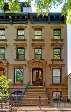 Brooklyn brownstone in Carroll Gardens