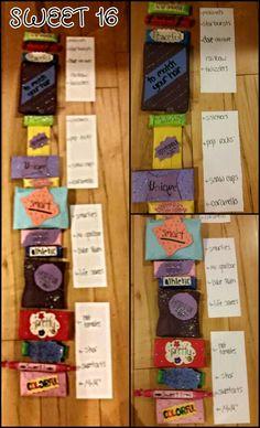 Creative Sweet 16 Present