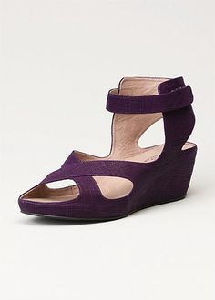 #TS14+ New Express Wedge - Purple  #plussize #curvy #spring