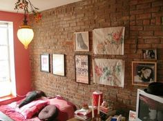 Interesting Bedrooms Designs With Brick Walls Decorating - 65 impressive bedrooms with brick walls