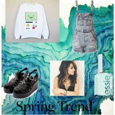 Spring Time by paigekemp on Polyvore featuring Essie