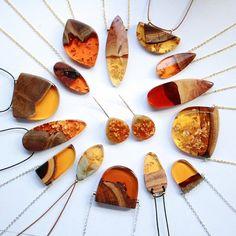 Salvaged Wood Fragments turned into Gorgeous Handmade Jewelry – Fubiz Media                                                                                                                                                                                 More