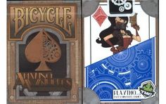 Bicycle Amazing Adventurers Playing Cards.