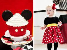 Deko-Kindergeburtstag-selber-machen-Mini-Mouse-Cupcakes